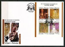 SAO TOME 2018  100th MEMORIAL ANNIVERS OF GUSTAV KLIMT PAINTING  SHEET FDC