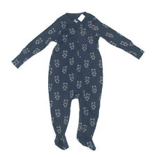 NEW GAP BABY First Favorite One-piece Bear Navy-Blue White 6-9 Months NWT /6990