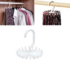 Tie Hanger Belt Rack Organizer Rotating Hook Ties Holder Closet Men Storage