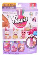 Poppit Soft'N'Lite Air Dry Mini Bunnies Clay Refill - NIP