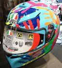 Casco integral Agv K-3 K3 sv Valentino Rossi Misano ci desde un mano moto gp