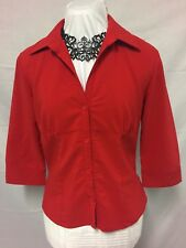 Red Women's Blouse. Size 12. Beautiful Piece. Excellent Condition