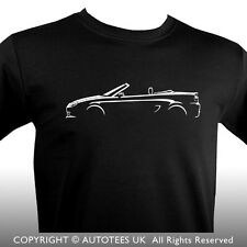 AUTOTEES CAR T-SHIRT - FOR MGTF ROADSTER SPORTS CAR ENTHUSIASTS