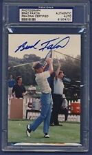 BRAD FAXON Signed Photo Snap Shot 4x6 PSA/DNA