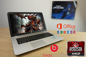"HP Envy Gaming Laptop 17.3"" Intel i7 Quad 8GB RAM Geforce GT740M Dedicated GPU"