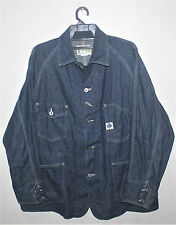 VINTAGE STYLE POST OVERALLS O'ALLS CHORE JACKET WORKER DENIM CHAMBRAY ENGINEER