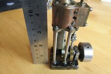 5 inch tall Marine Model Live Steam Engine or other use Scratch built