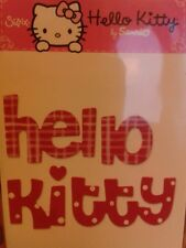 Discontinued RARE Hello Kitty Phrase Medium Sizzix Sizzlits Die 655876 NEW!