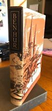 Ben-Hur: A Tale of The Christ by Lew Wallace 1960 HC DJ Heritage Press VGC