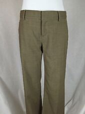 GAP Hip Slung Fit Size 1 Stretch Women's Pant Slacks Wool Blend EUC