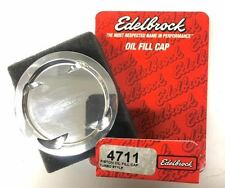 EDELBROCK LOW COMPRESSION PISTON STYLE OIL FILL CAP FOR HONDA AND ACURA VEHICLES