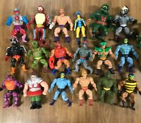 motu masters of the universe lot heman skeletor 🐏man,evil Lynn Stinkor roboto🤖