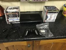 Sony Playstation 3 Super Slim 12gb With Controller, 24 Games & All Wires