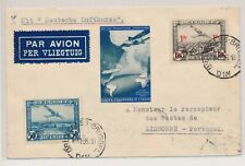 LM53811 Belgium 1936 to Portugal airmail good cover used