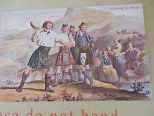 More details for postcard  p8 a34  highlander  croft crofters   games shot put