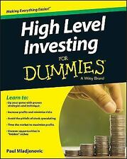 High Level Investing for Dummies (Paperback or Softback)