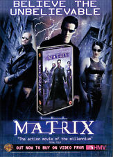 "Matrix ""Video From HMV"" 2000 Magazine Advert #5422"