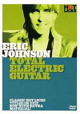 Hot Licks: Eric Johnson - Total Electric Guitar Guitar DVD (Region 0) Instrument