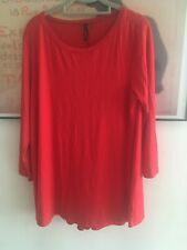 JOIN CLOTHES TUNIC 14 Red QVC