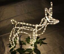 Rentier beleuchtet 102cm  mit 50 LEDs Deko-Rentier Weihnachtsdekoration
