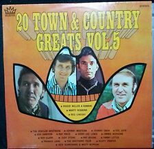 VARIOUS ARTISTS - 20 TOWN AND COUNTRY GREATS VOL. 5 VINYL LP AUSTRALIA