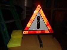 VINTAGE WARNDREIECK  GERMANY TRIANGLE ROADSIDE SAFETY REFLECTOR