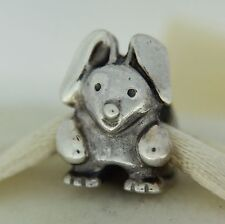 Authentic Pandora 790389 Rabbit Sterling Silver Bead Charm