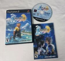 Final Fantasy X Sony PlayStation 2 PS2 COMPLETE GAME VIDEO RPG