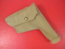 WWII British Canvas Holster for Browning Hi Power Pistol - Dated 1944 - MINT #2
