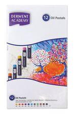 Derwent Academy Oil Pastels 12 Box