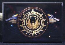 "Battlestar Galactica Insignia 2"" X 3"" Fridge / Locker Magnet. BSG"