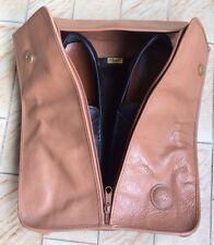 """Porta Scarpe da Viaggio Pelle """"I Santi"""" Door Travel Shoes Vip Vintage Elegante"""