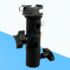 Umbrella Holder Hot Shoe Mount Stand Flash Bracket For Nikon Canon Speedlight