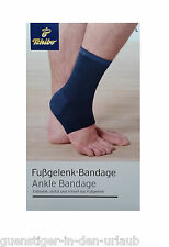 TCM Tchibo Fusgelenk Bandage Fuß Gelenk Bandage Größe L blau
