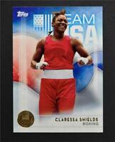 2016 Topps U.S. Olympic Team Gold #2 Claressa Shields - NM-MT