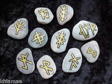Give Up Bad Habits Bind Rune amulet talisman wicca pagan spell wiccan new year