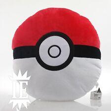 POKEMON POKEBALL CUSCINO PELUCHE 40 CM plush pillow oreiller cushion poke ball