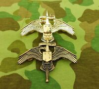 TWO U.S. Special Forces Wings US MARINE RAIDER INSIGNIA USMC MARSOC BADGE PIN