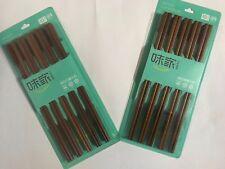 Chopsticks 10 pairs Rose Wood Incense brown