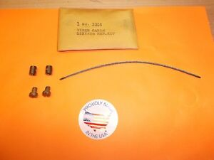 WIPER CABLE TRANSMISSION REPAIR KIT BUICK CADILLAC CHEVROLET PACKARD LINCOLN