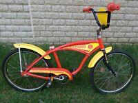 """SCHWINN TORNADO STINGRAY BOYS 20"""" MUSCLE BIKE BMX MX SEAT BICYCLE."""