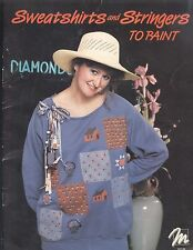 Sweatshirts & Stringers To Paint Decorative Painting Book Peggy Caldwell Xmas