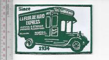 Vintage Trucking & Van Lines New York La Flor De Mayo Express since 1934 Bronx