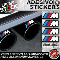 Adesivi Stickers BMW M SCARICO EXAUST PERFORMANCE SERIE M Z X 3 4 5 6 H.TEMP !!