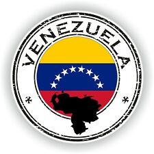 Sello Pegatina de Venezuela Parachoques Disco Portátil Coche Camión Libro Nevera