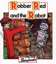 """NEW"" Robber Red and the Robot (Letterland Storybooks), Stone, Vivien, Book"