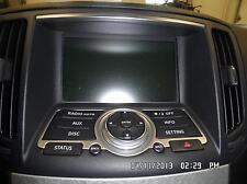 INFINITI G35 A/V Equipment receiver (AM-FM-stereo-CD), w/o navi. 08 09,13C0270
