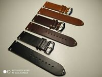 LUXURY ITALIAN CALF LEATHER STRAP FOR VINTAGE ROLEX OMEGA WATCH 18 20 22 24 MM
