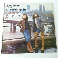 June Tabor & Martin Simpson - A Cut Above - Vinyl LP UK 1st Press EX/NM
