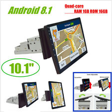 "1Din Rotatable Android 8.1 10.1""1080P Quad-core RAM1GB ROM 16GB Car Stereo Radio"